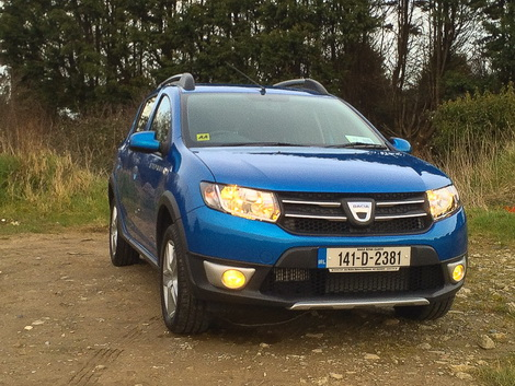 dacia sandero stepway new car review by. Black Bedroom Furniture Sets. Home Design Ideas