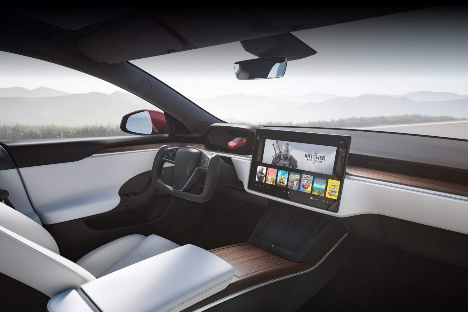 Complete Car Features | Tesla's weird steering wheel is not the first
