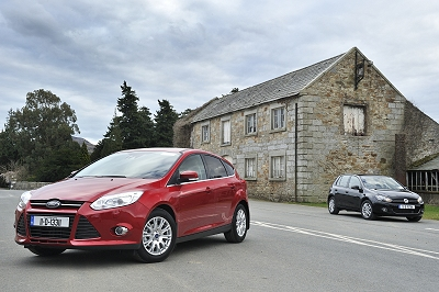 Complete Car Features | New Ford Focus or Volkswagen Golf?