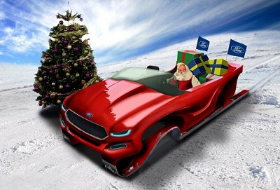Ford pimps Santa's ride