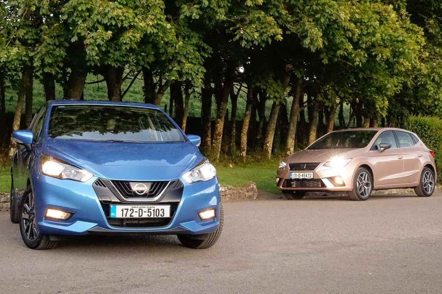 Nissan Micra vs. SEAT Ibiza twin test | CompleteCar.ie
