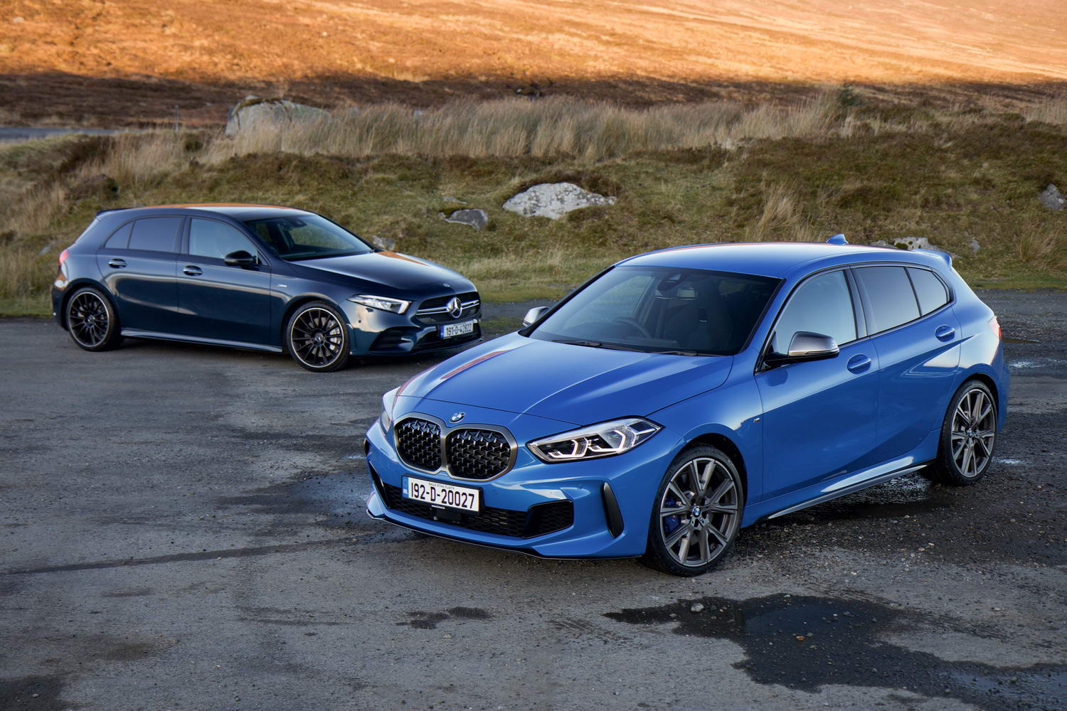 Hot hatch twin test: BMW M135i vs Mercedes-AMG A 35 | CompleteCar.ie