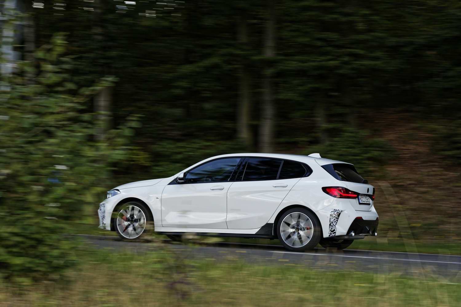 BMW 128ti (2021 pre-production)