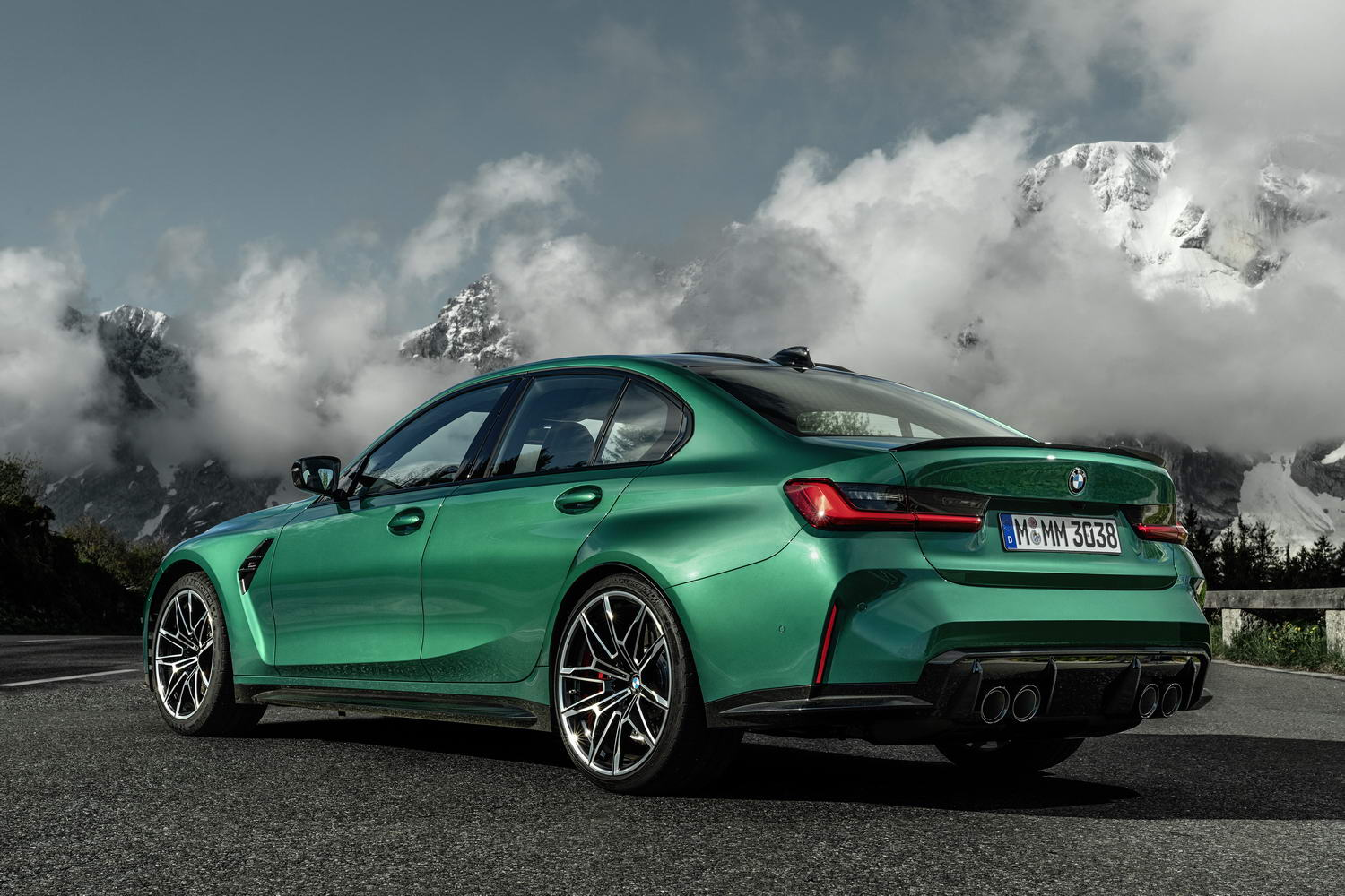 2021 bmw m3 saloon image gallery - car and motoring news