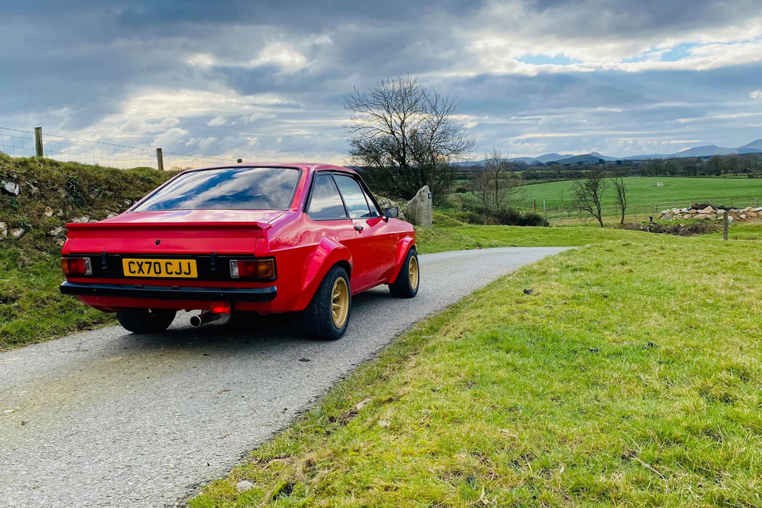 Classic Ford Escort returns in restomod form