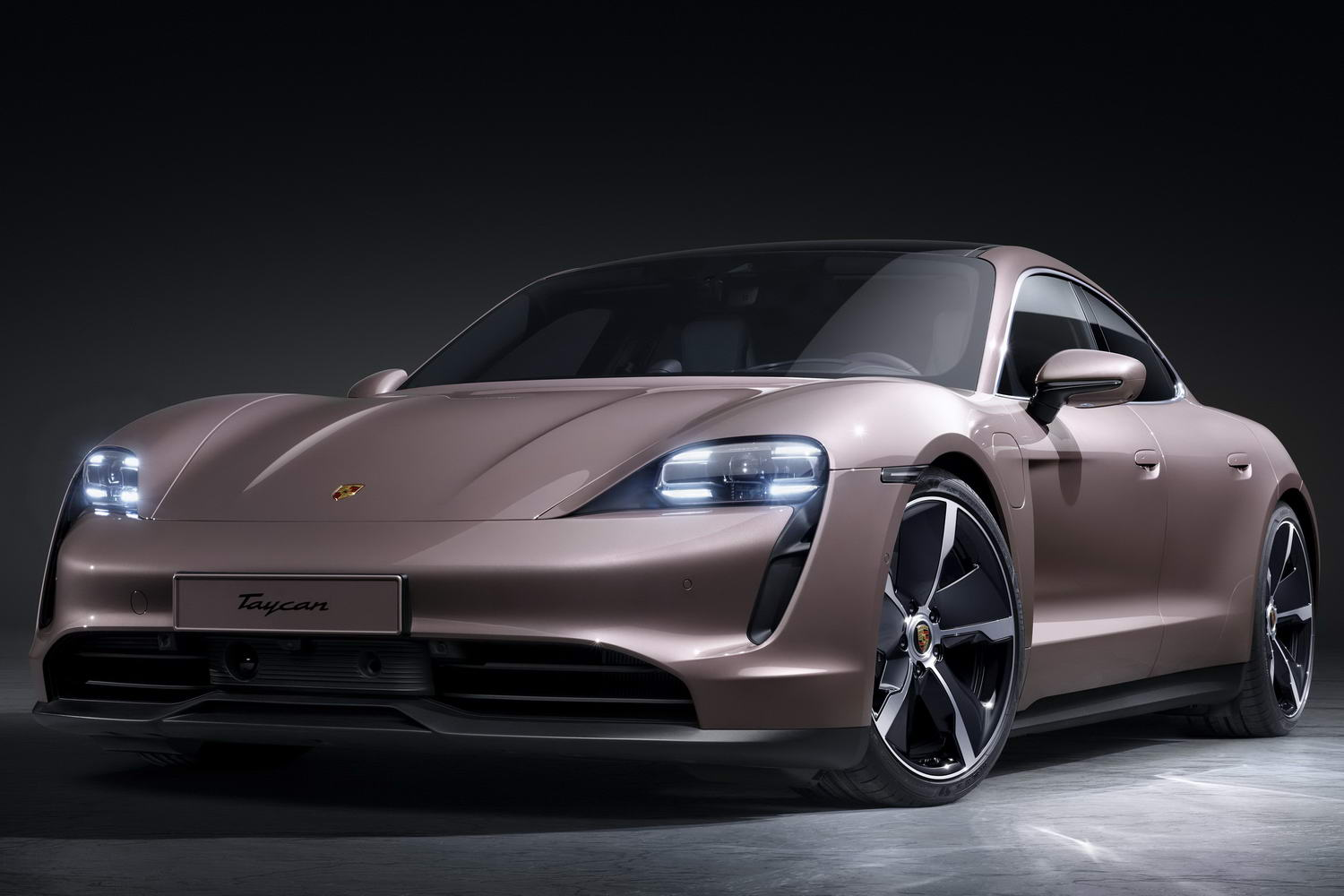 Electric Porsche Taycan goes rear-wheel drive
