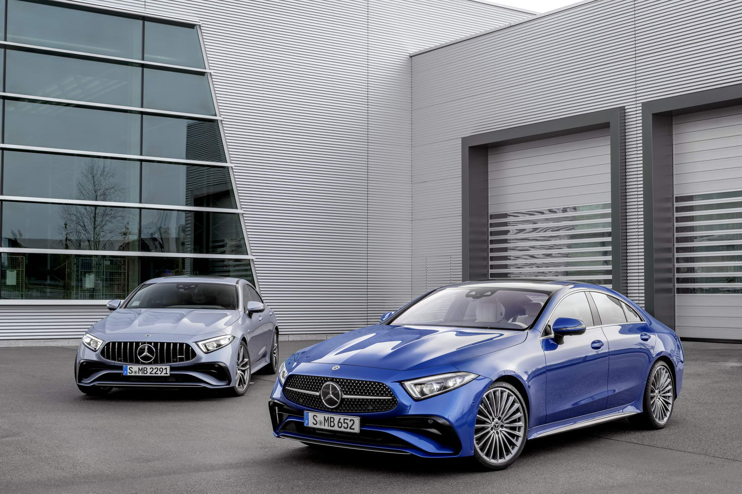 Update for Mercedes and AMG CLS