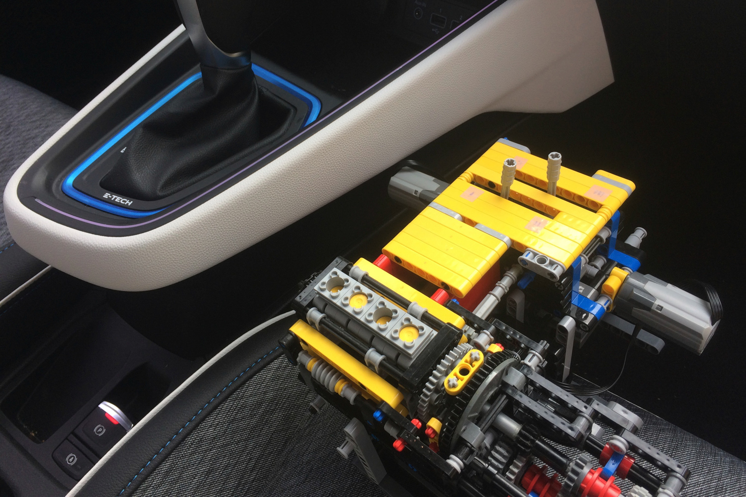 Renault used Lego to design its hybrid powertrain