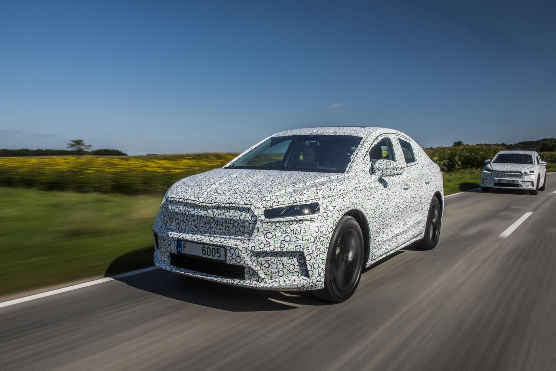 Skoda Enyaq Coupe iV prototype (2022) review