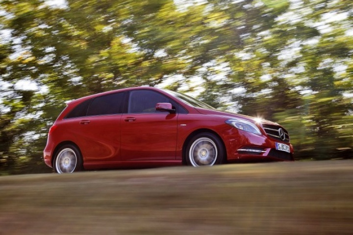 Mercedes Benz B Class Co Emissions