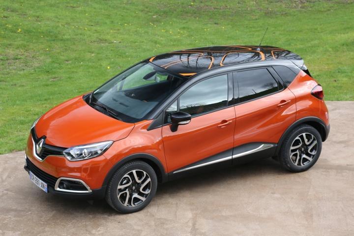 Renault captur test