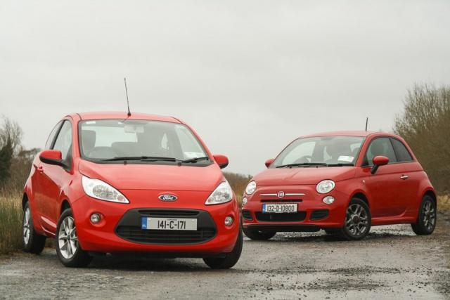 Ford Ka And Fiat  Car Reviews
