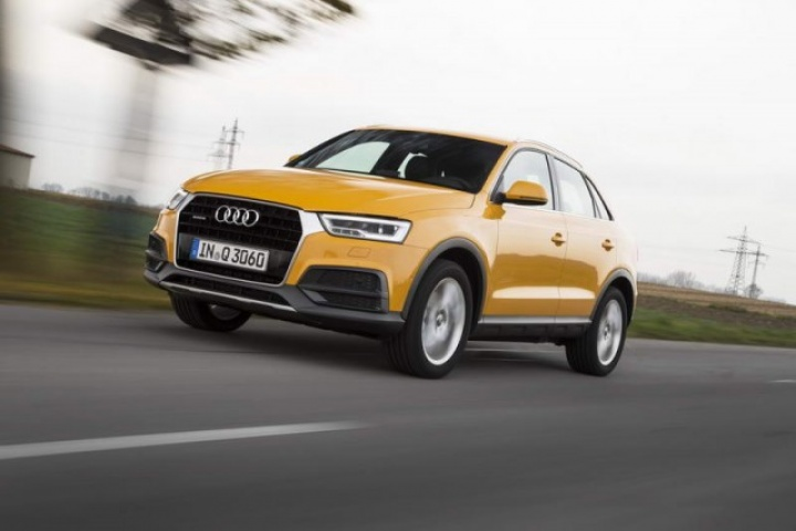 audi q3 reviews news test drives complete car. Black Bedroom Furniture Sets. Home Design Ideas