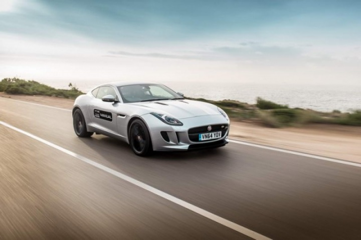 Jaguar F-Type Coupe V6 S manual