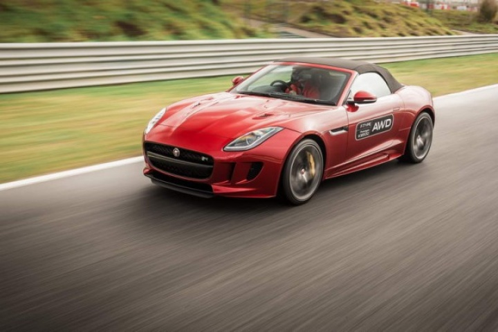 jaguar f type r awd prototype reviews test drives complete car. Black Bedroom Furniture Sets. Home Design Ideas