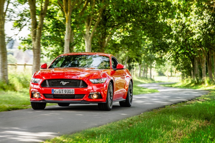 Ford Mustang V8 Coupe