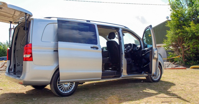 Mercedes Benz Vito Mixto Reviews Complete Car