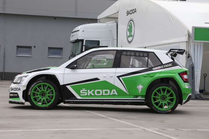 Flat out in Skoda's Fabia R5 - a feature by CompleteCar ie