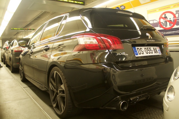 From Paris to Dublin in the new Peugeot 308 GTi  - a feature by