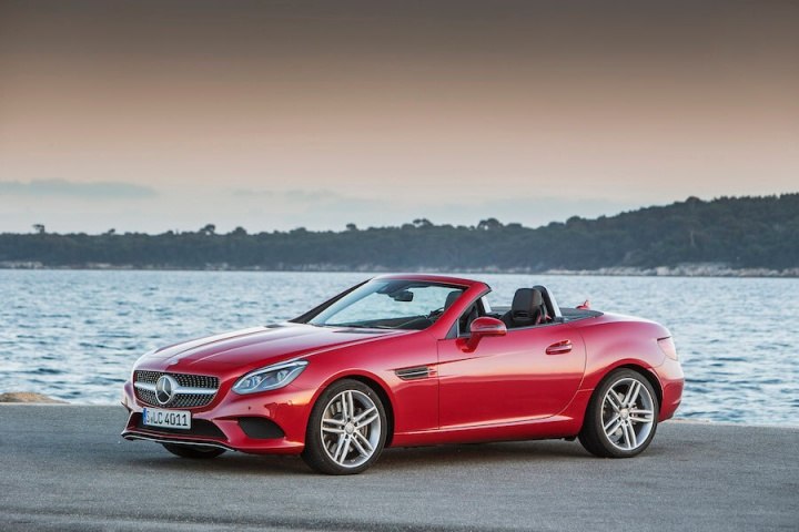Mercedes-Benz SLC 250 D