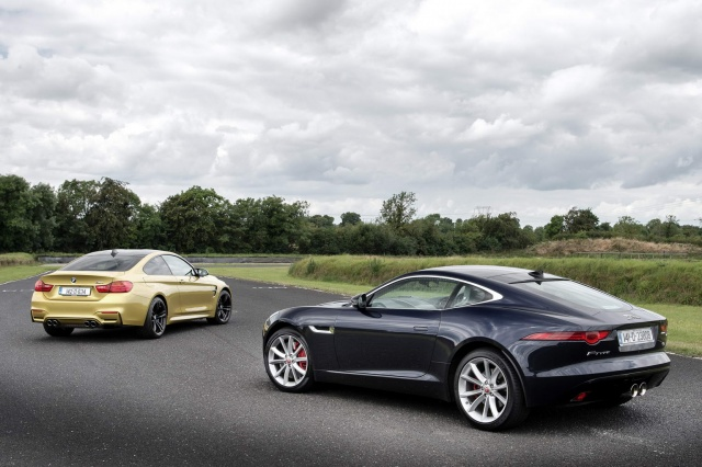 BMW M4 Coupe Vs. Jaguar F Type Coupe Comparison