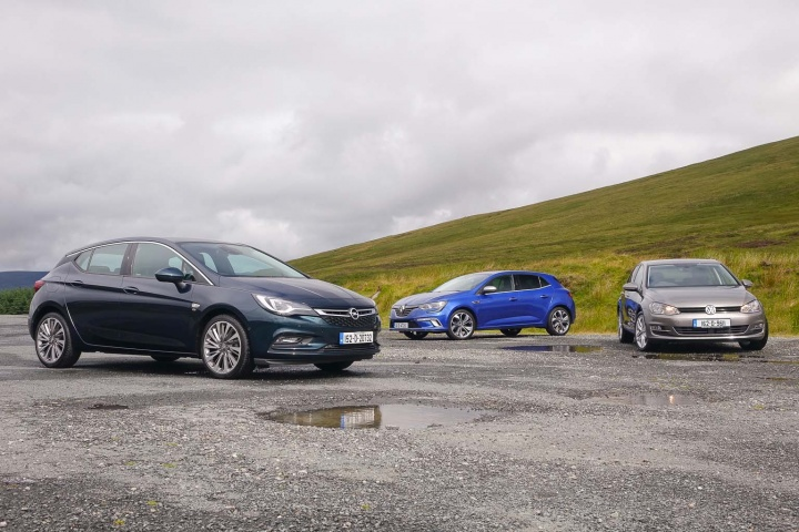 Complete Car Features | Renault Megane vs Opel Astra vs Volkswagen Golf