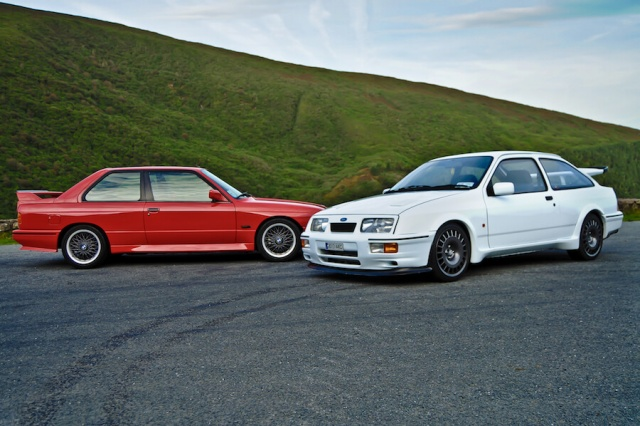 Complete Car Features | E30 BMW M3 vs. Ford Sierra RS Cosworth!