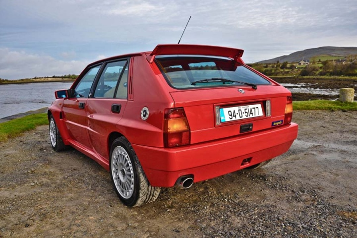 irish icons lancia delta integrale a feature by. Black Bedroom Furniture Sets. Home Design Ideas