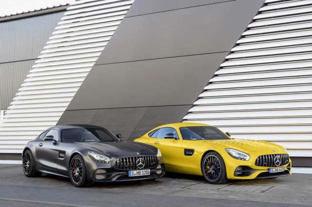 Mercedes-AMG GT C Coupe details and pics