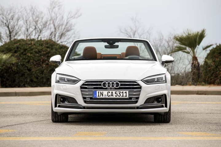 audi a5 cabriolet 2 0 tdi quattro reviews complete car. Black Bedroom Furniture Sets. Home Design Ideas