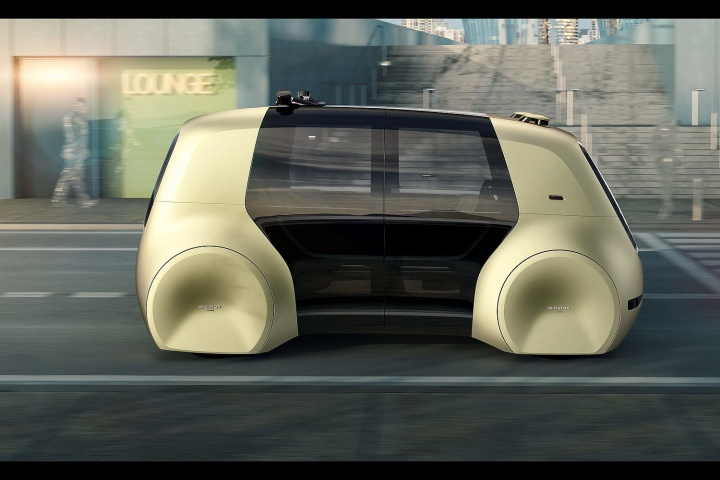 Volkswagen Sedric Self Driving Car Concept Car And