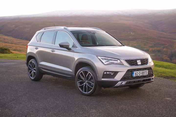 Five best mid-sized SUVs and crossovers in Ireland