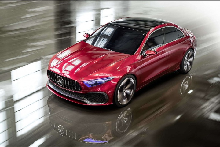 Mercedes previews possible A-Class Saloon