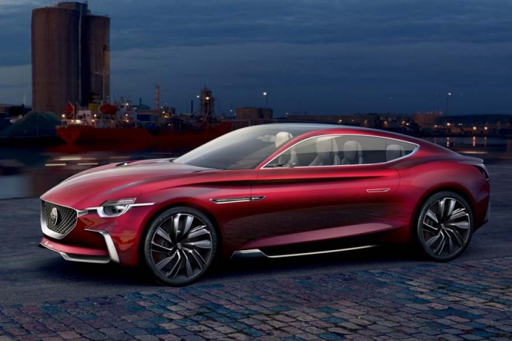 MG shows E-Motion electric concept