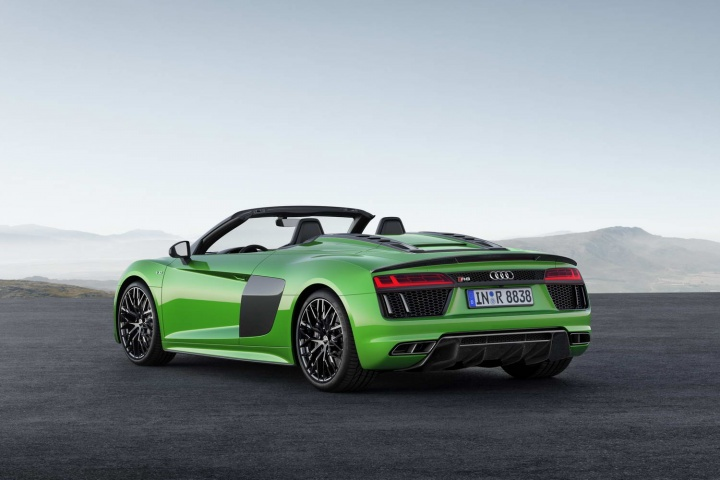 Audi adds power for R8 Spyder plus