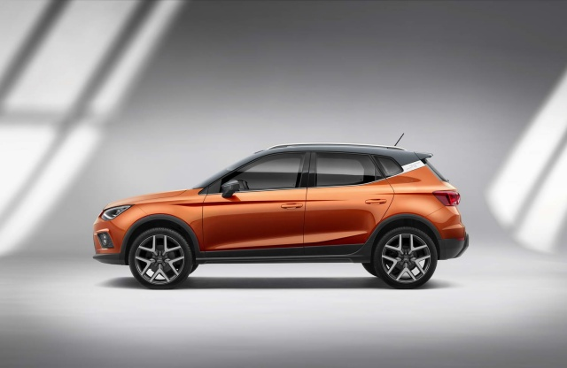 2018 SEAT Arona crossover pics, specs and details
