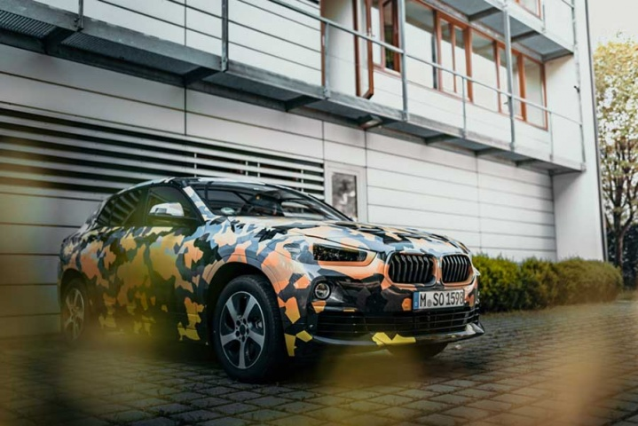 BMW X2 first glimpse