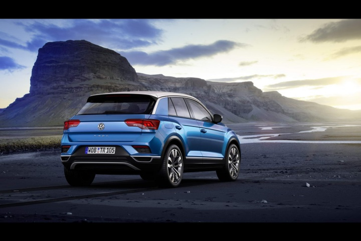 volkswagen t roc first pictures details and specifications car and motoring news by. Black Bedroom Furniture Sets. Home Design Ideas