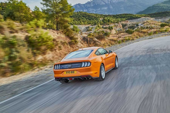 Ford Mustang updates for European market