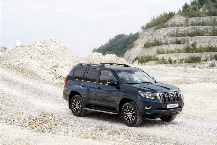 Toyota Land Cruiser updated for 2018