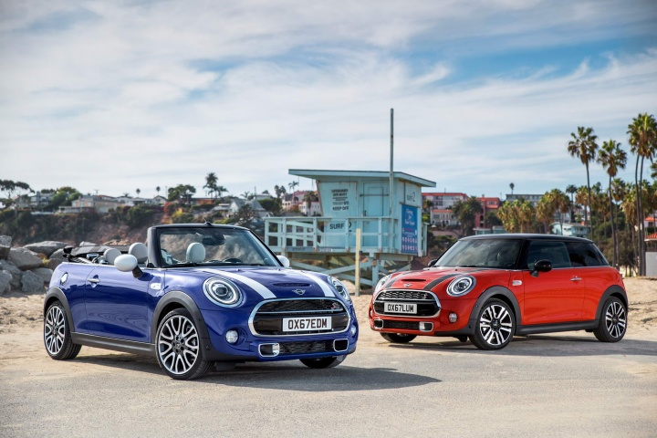 Midlife facelift time for MINI trio