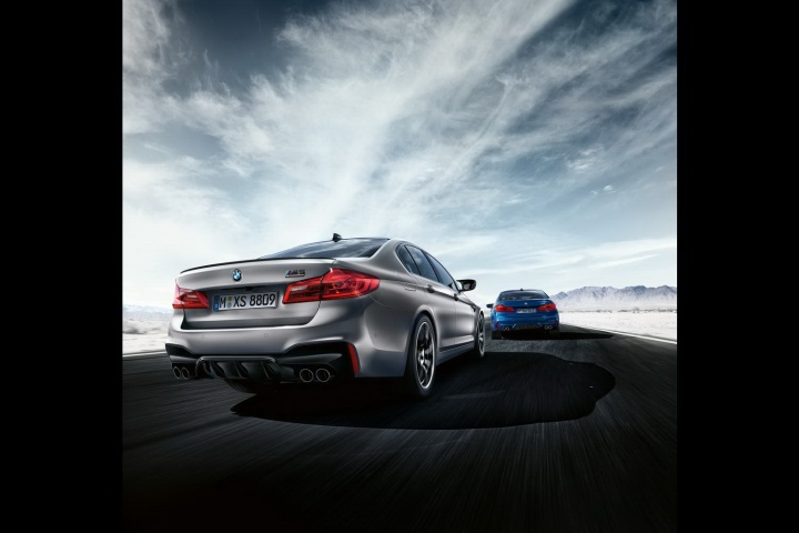 BMW unleashes the M5 Competition