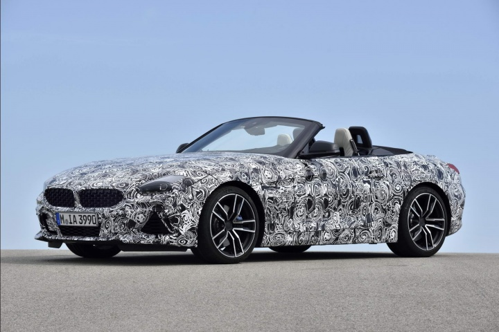 First look at BMW's all-new Z4