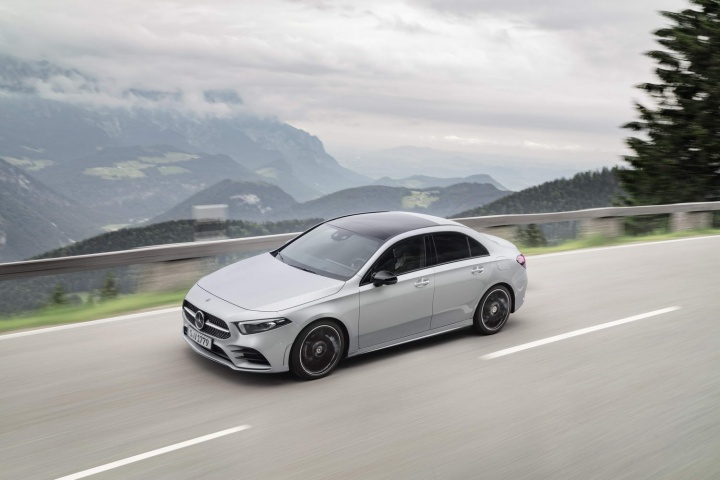 Mercedes A-Class Saloon coming in 2019