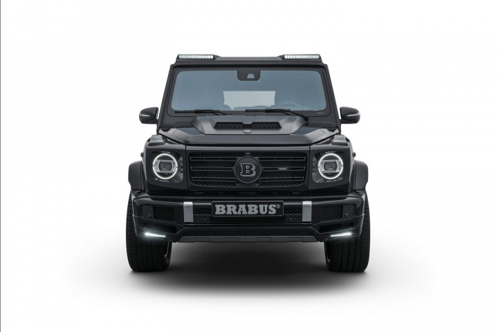 Brabus pumps up new Merc G-Class