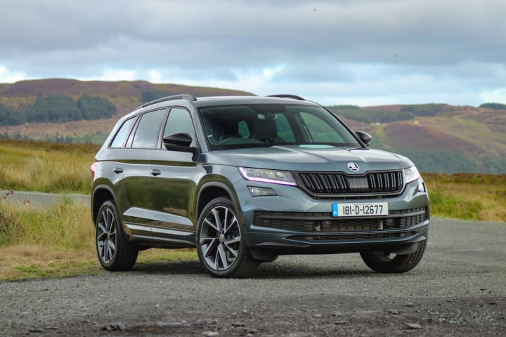 skoda kodiaq sportline 4x4 reviews complete car. Black Bedroom Furniture Sets. Home Design Ideas