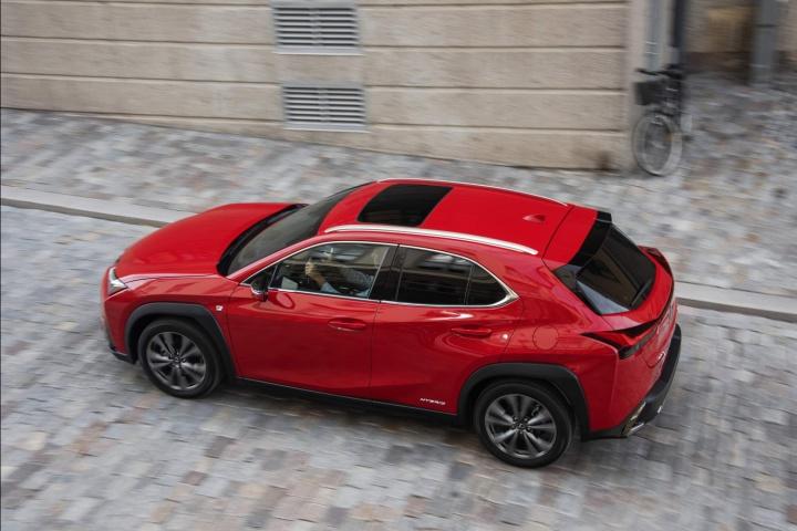 lexus ux 250h f sport reviews complete car. Black Bedroom Furniture Sets. Home Design Ideas