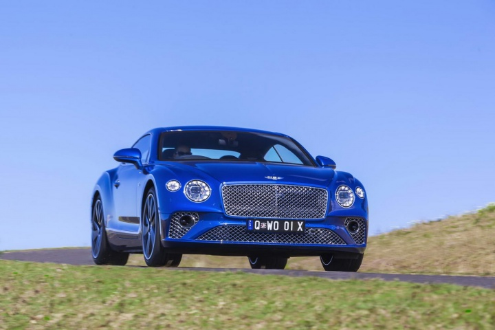 Bentley Continental GT Coupe W12 (2018)