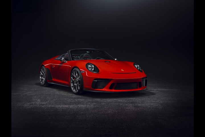Porsche confirms 911 Speedster production