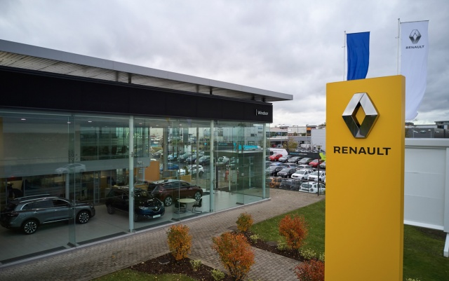 Windsor moves Dacia and Renault into Airside